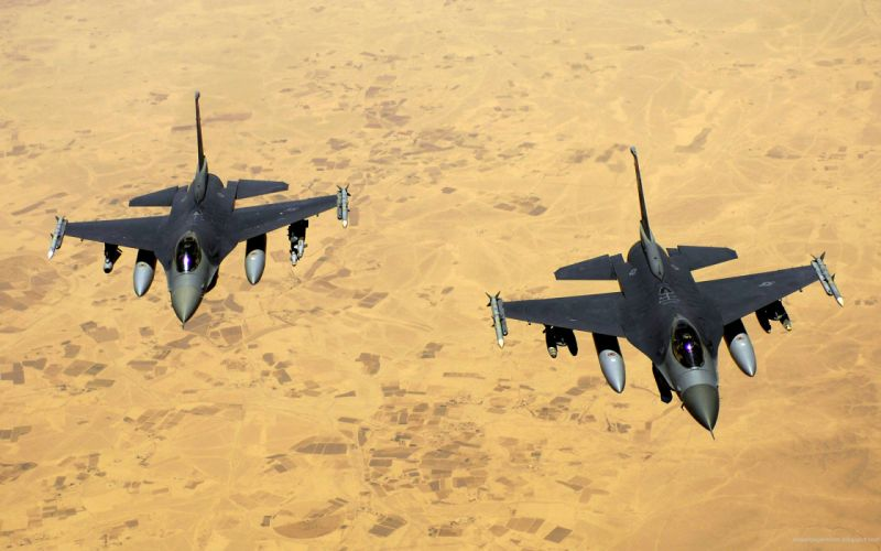 airforce jet fighters-wide wallpaper