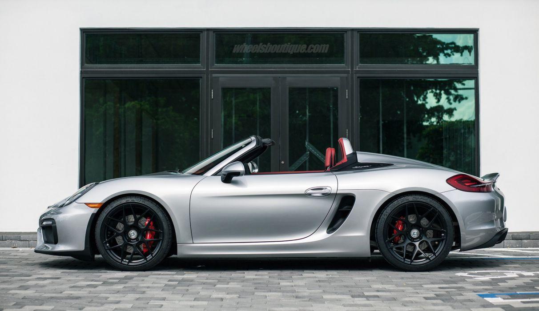 Porsche Boxster Spyder HRE wheels cars wallpaper