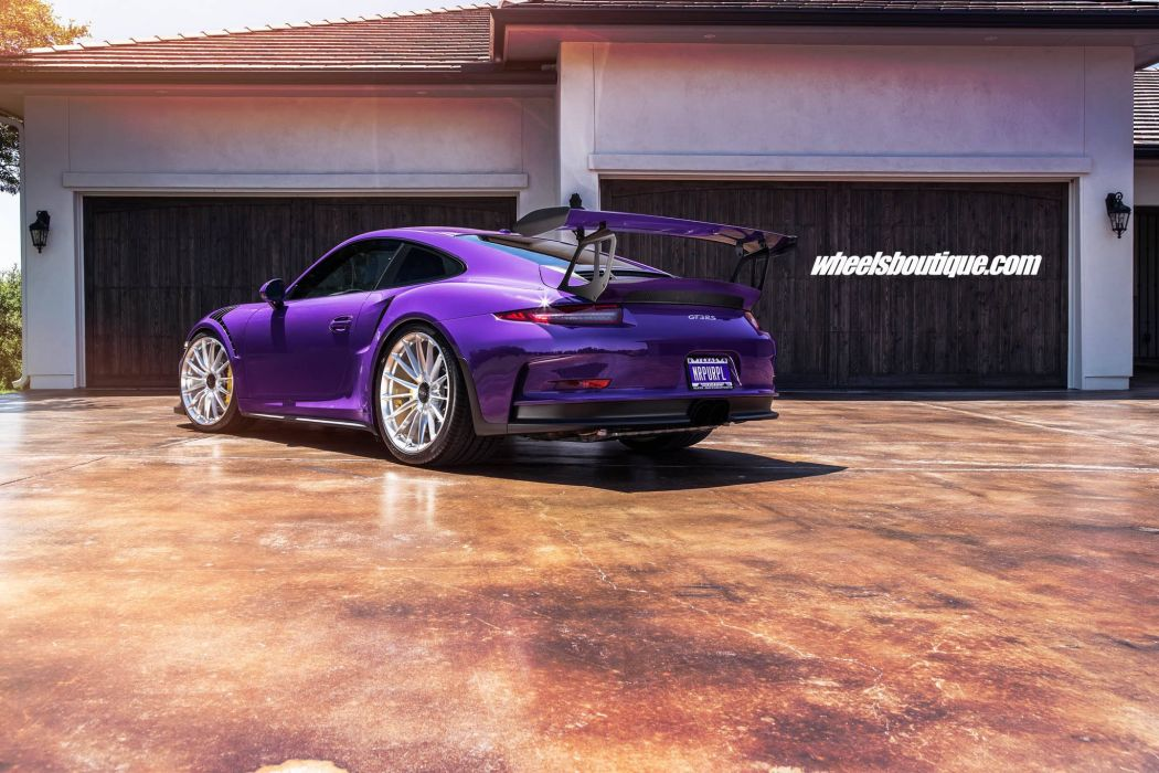 Porsche GT3-RS cars wheels HRE wallpaper