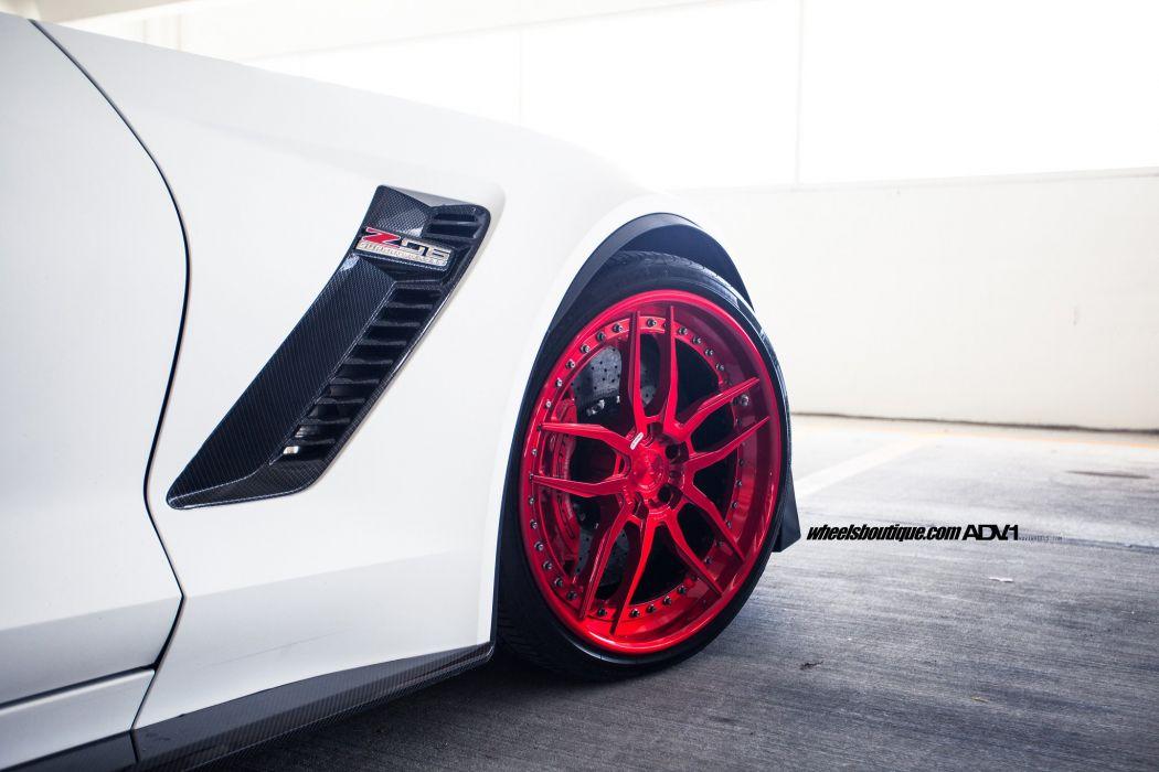 Chevy Corvette (C7) Z07 cars adv1 wheels wallpaper
