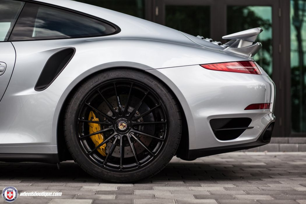 Porsche 991 Turbo S cars silver wheels HRE wallpaper