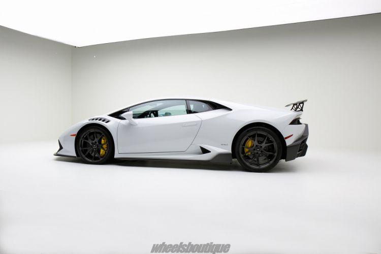 Lamborghini Huracan White full Vorsteiner Novara Carbon body bodyKit wallpaper