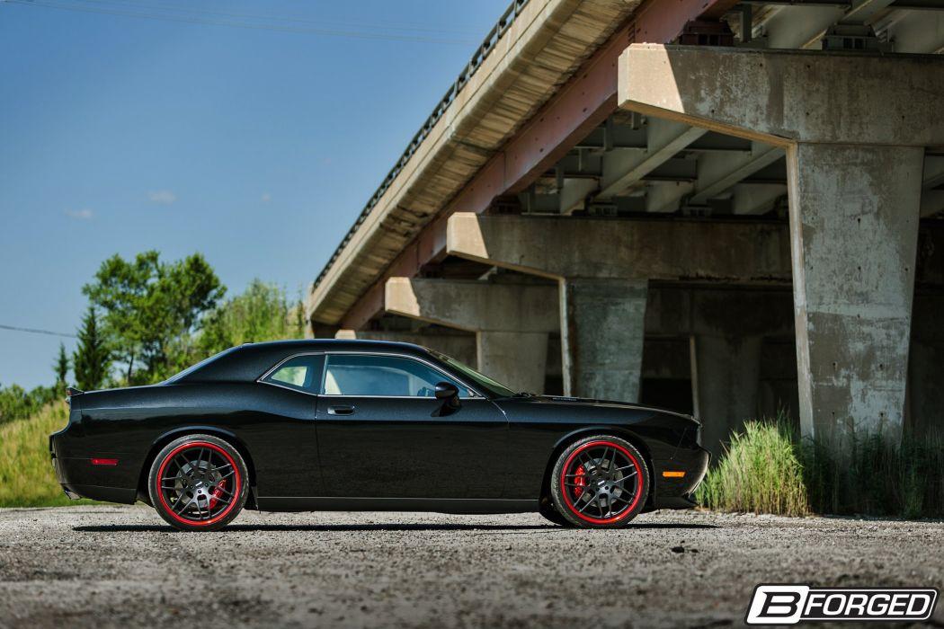 B-Forged Wheels Dodge Challenger SRT8 wallpaper