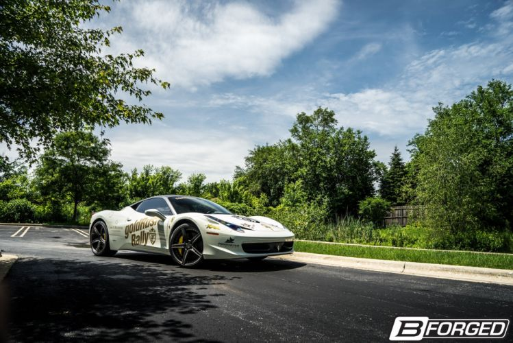 Ferrari 458 Italia B-Forged cars Wheels wallpaper