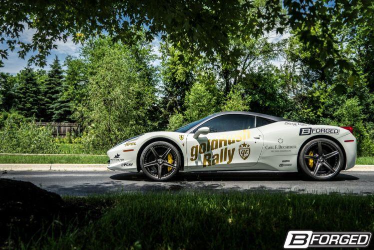 Ferrari 458 Italia B-Forged cars Wheels wallpaper