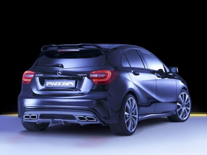 2016 PIECHA DESIGN MERCEDES BENZ A-CLASS cars black modified wallpaper