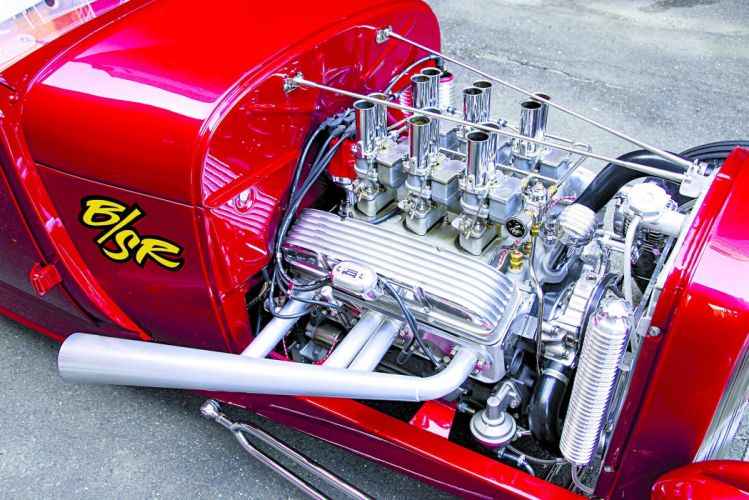 1929 Ford Sport Coupe Roadster cars hot rod red wallpaper