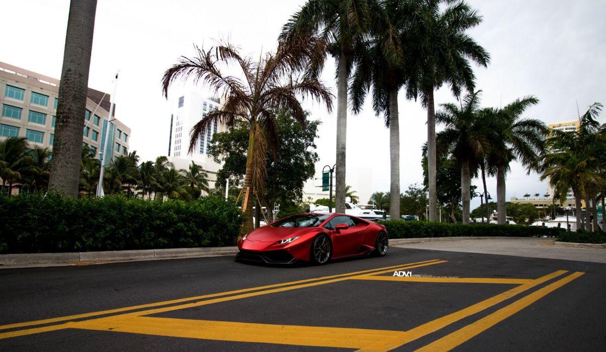 metallic-matte-red-vinyl-wrapped-lamborghini-huracan-adv1-wheels-carbon-fiber-r-1920x1117 wallpaper