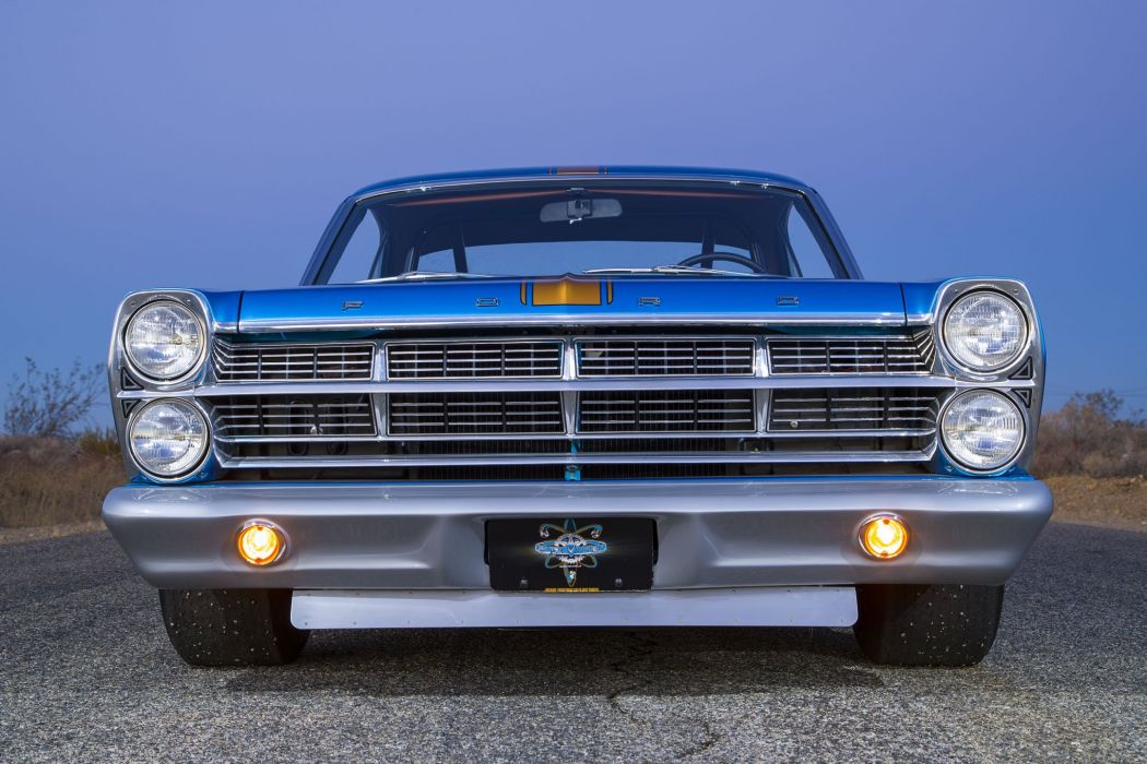 1967 ford Fairlane cars classic coupe blue wallpaper