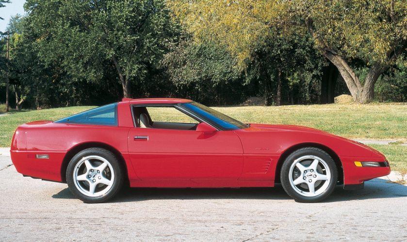 1995 Chevrolet Corvette ZR1 Sport Coupe cars red wallpaper