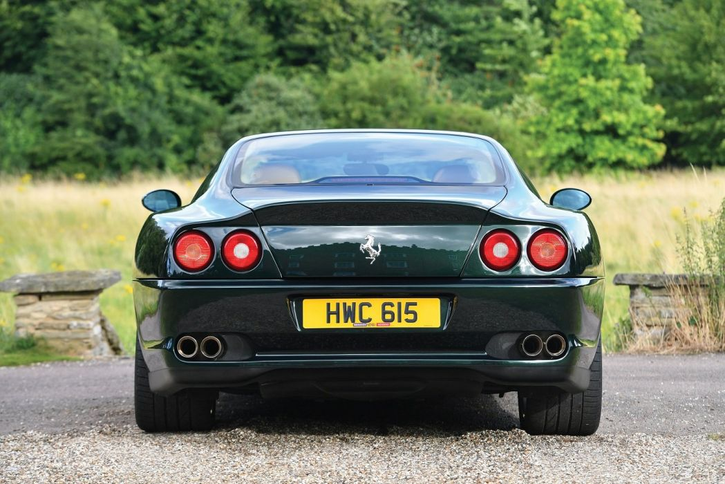 Ferrari 575 M Maranello F1 Uk Spec Cars Coupe Green 2002 Wallpaper 1440x961 1007561 Wallpaperup