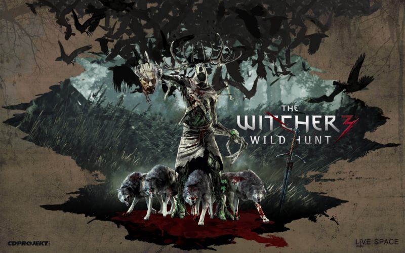 WITCHER game video action dark fantasy fighting hunt warrior wild witcher hack slash rpg online stealth wallpaper