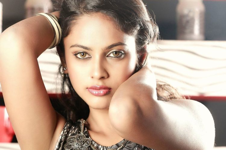 Nandita Swetha bollywood actress model girl beautiful brunette pretty cute beauty sexy hot pose face eyes hair lips smile figure indian wallpaper