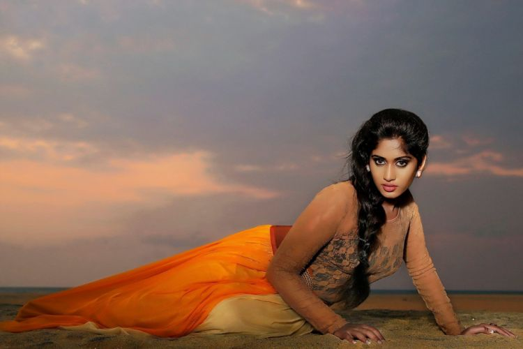 Sowmya Venugopal bollywood actress model girl beautiful brunette pretty cute beauty sexy hot pose face eyes hair lips smile figure indian wallpaper