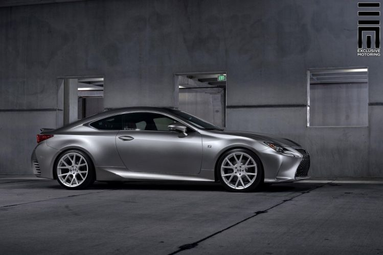 Lexus RC-350 Vossen Wheels cars silver wallpaper