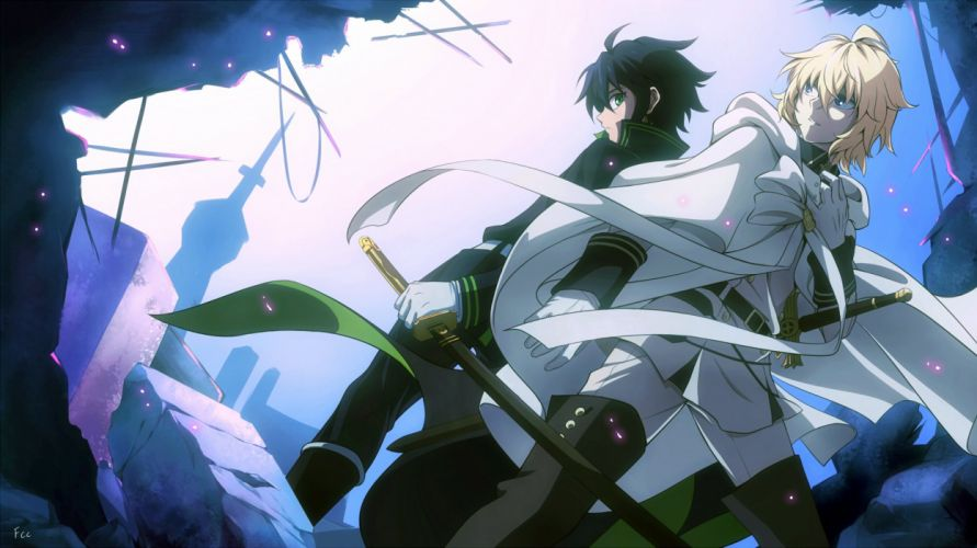 Owari no Seraph Series anime Character wallpaper