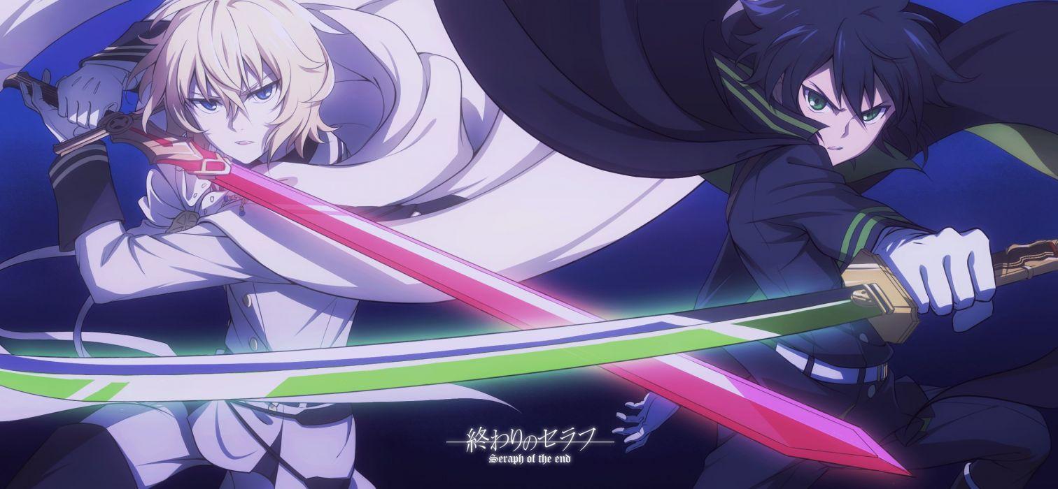 Owari No Seraph Series Anime Character Vampire Wallpaper