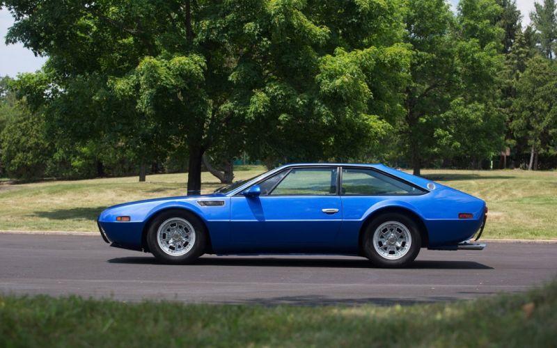 1972 cars blue Lamborghini Jarama GT wallpaper