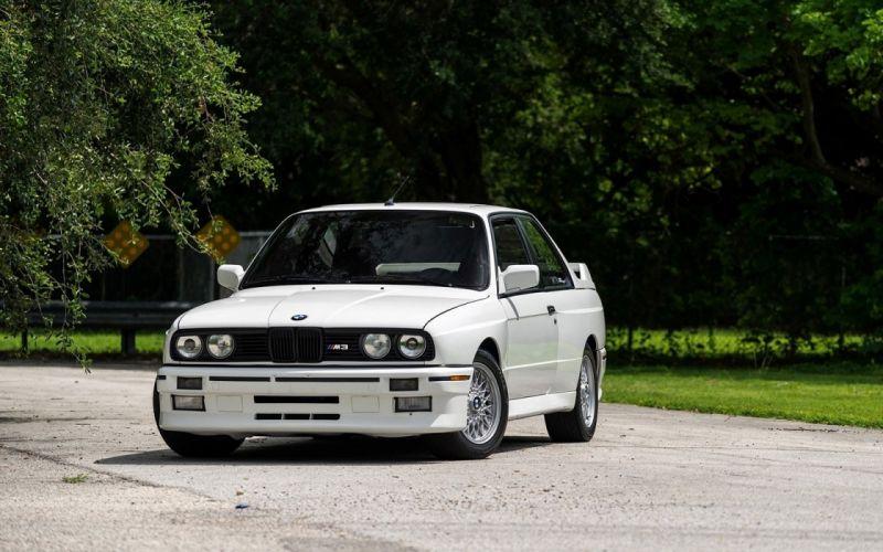 1990 cars white BMW M3 E30 wallpaper