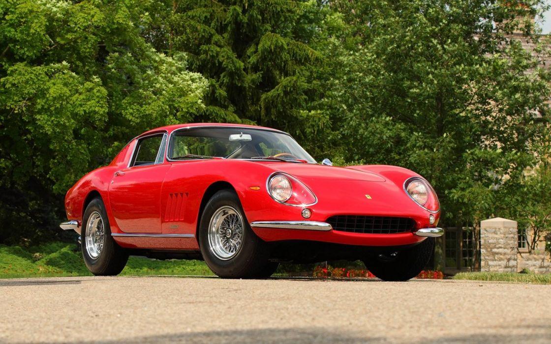 1966 cars classic red Ferrari 275 GTB Long Nose wallpaper