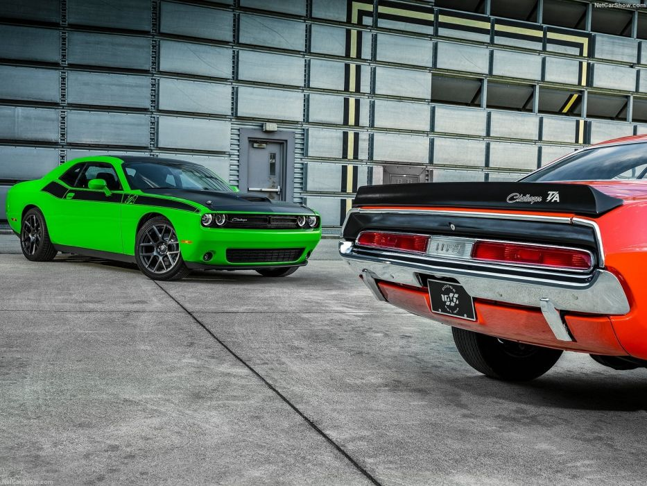 Dodge Challenger TA 2016 cars wallpaper