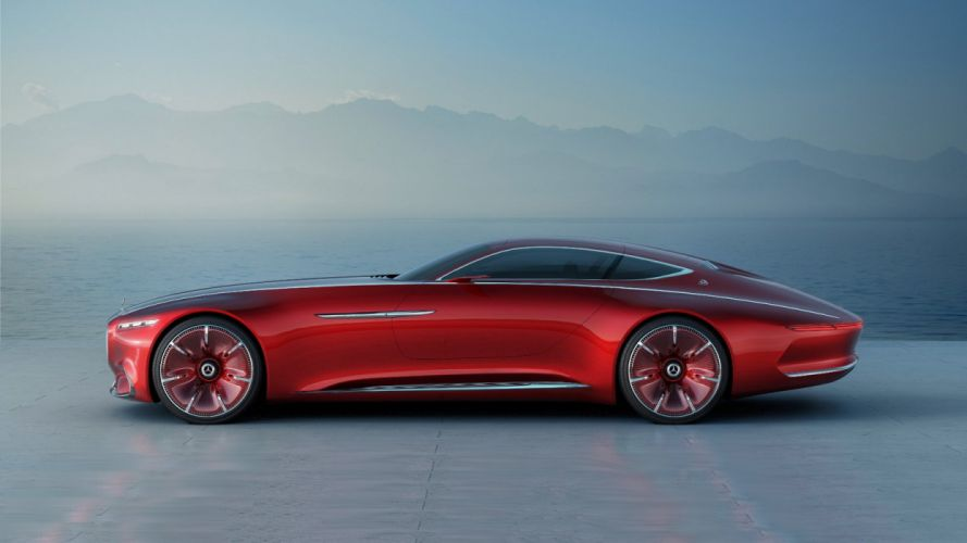 Vision Mercedes Maybach 6 concept cars 2016 wallpaper
