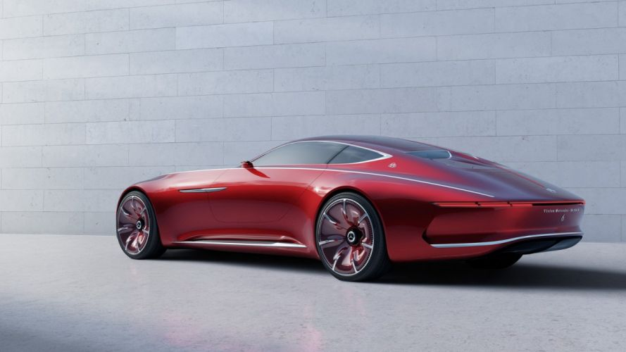 Vision Mercedes Maybach 6 concept cars 2016 wallpaper