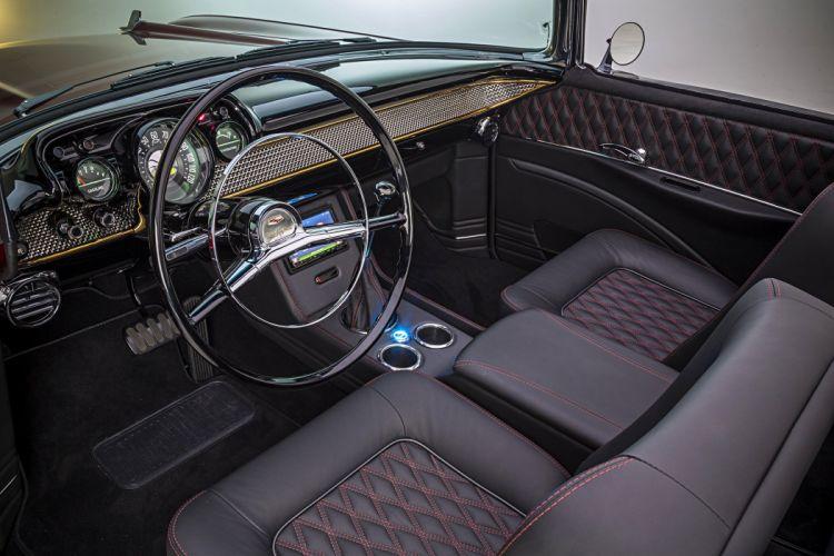 1957 chevrolet bel air convertible modified classic cars wallpaper