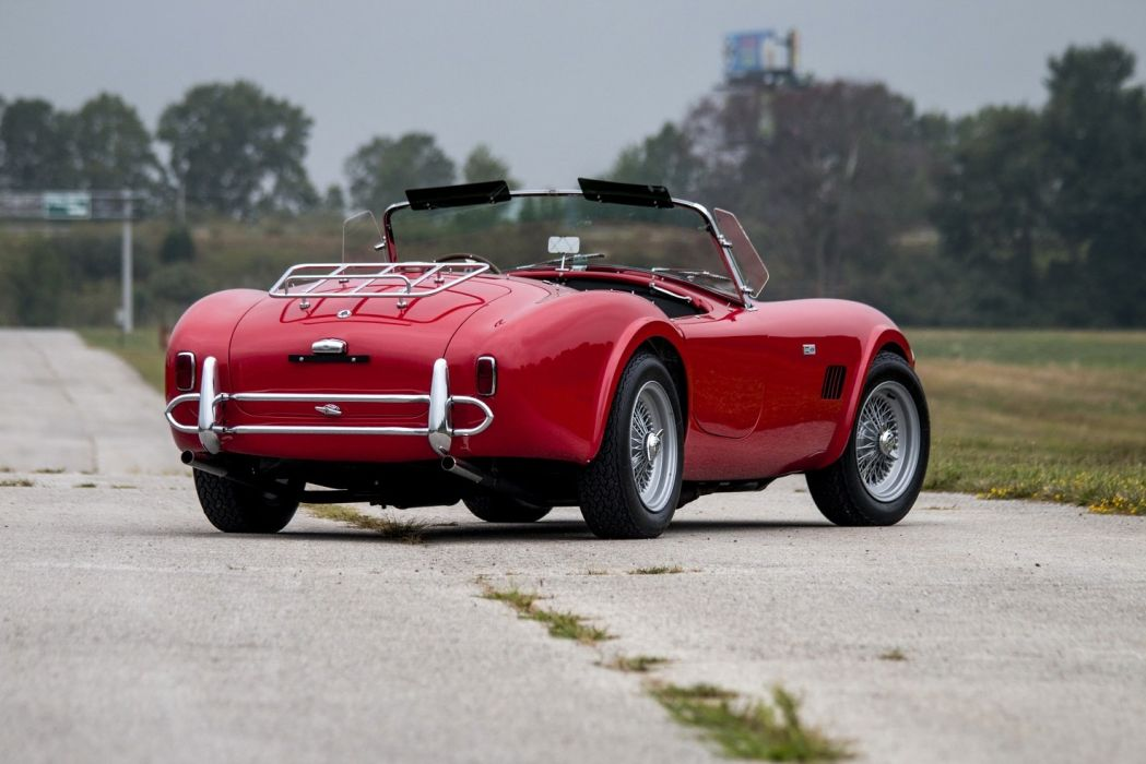 1965 Shelby Cobra 289 cars red classic wallpaper
