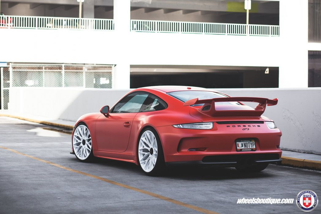 Porsche 991 GT3 HRE wheels cars wallpaper