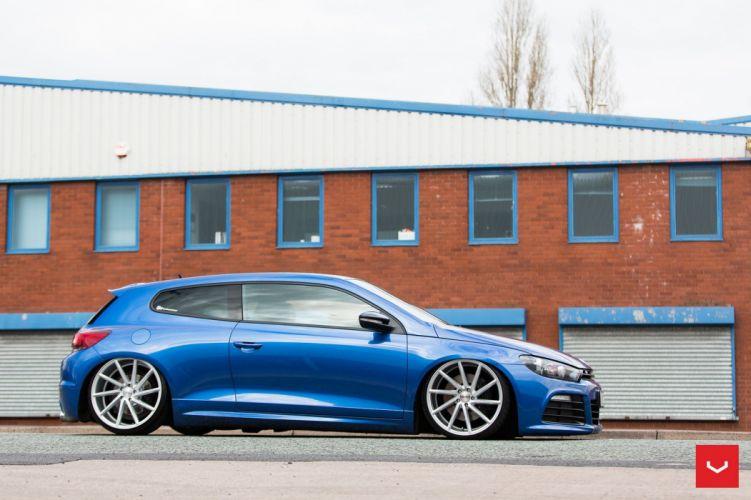 VolskWagen Scirocco coupe cars Vossen Wheels wallpaper