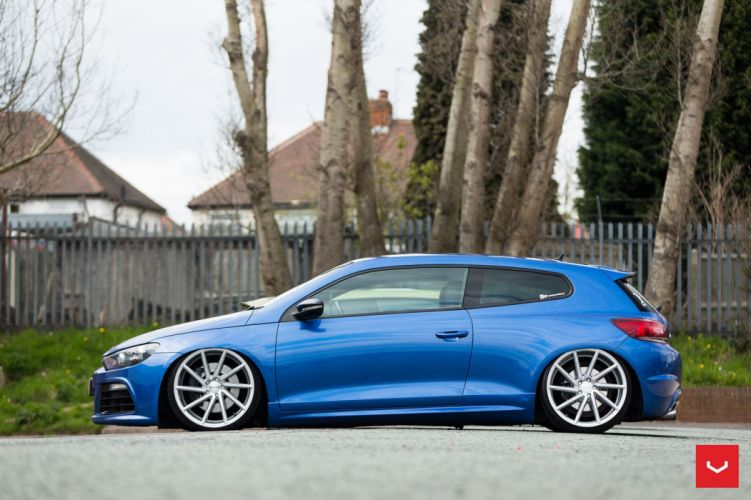 VolskWagen Scirocco coupe cars Vossen Wheels wallpaper
