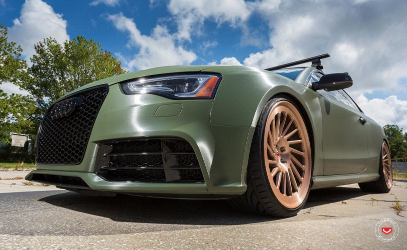 Audi RS5 cars Vossen Wheels wallpaper