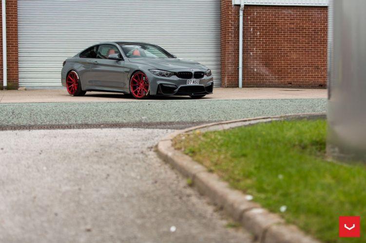 bmw M4 COUPE cars Vossen Wheels wallpaper