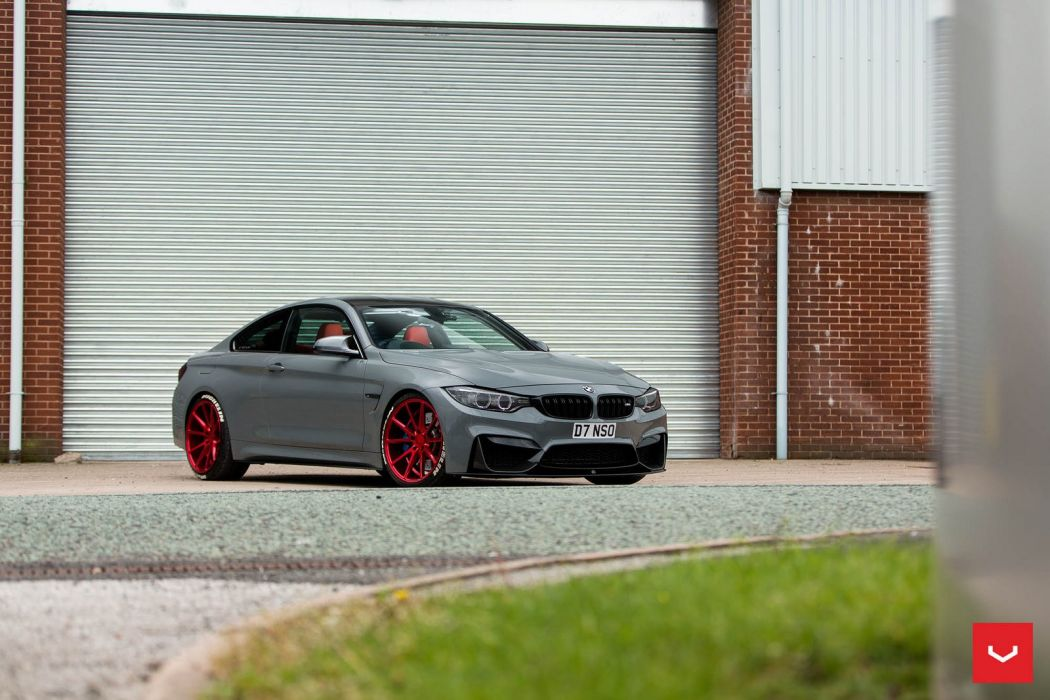 bmw M4 COUPE cars Vossen Wheels  wallpaper