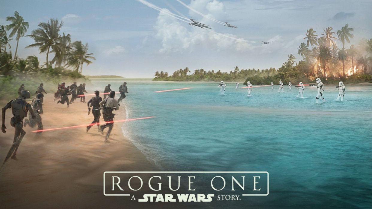 ROGUE ONE A Star Wars Story 1rosw disney futuristic sci-fi movie film science fiction technics wallpaper
