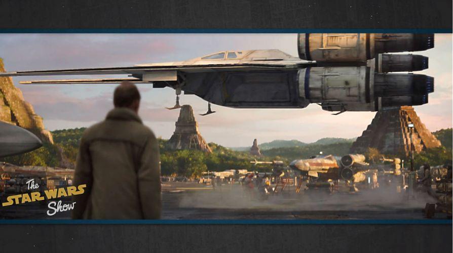 ROGUE ONE A Star Wars Story 1rosw disney futuristic sci-fi movie film science fiction technics wallpaper