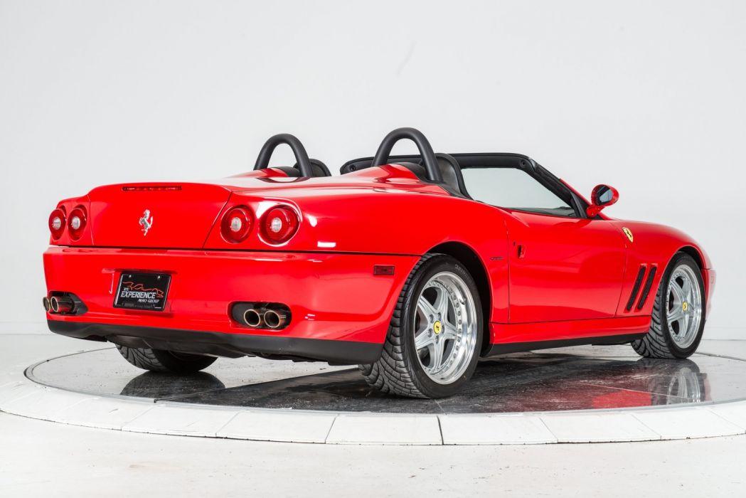 2001 FERRARI 550 BARCHETTA cars red wallpaper