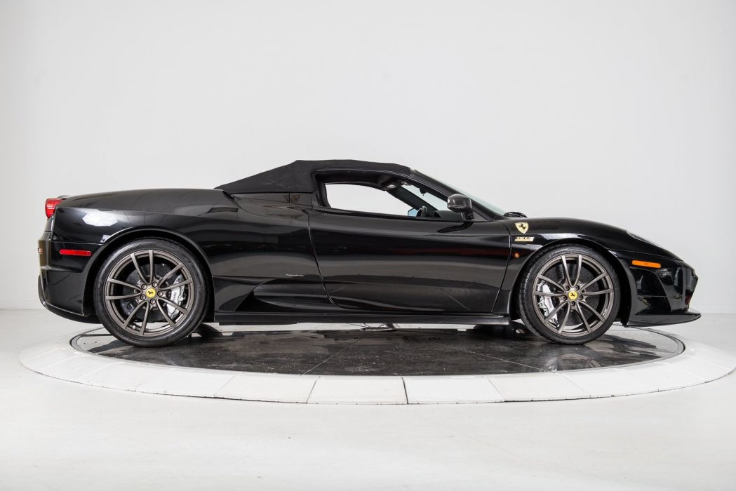 2009 FERRARI F430 SCUDERIA SPIDER 16M cars black wallpaper