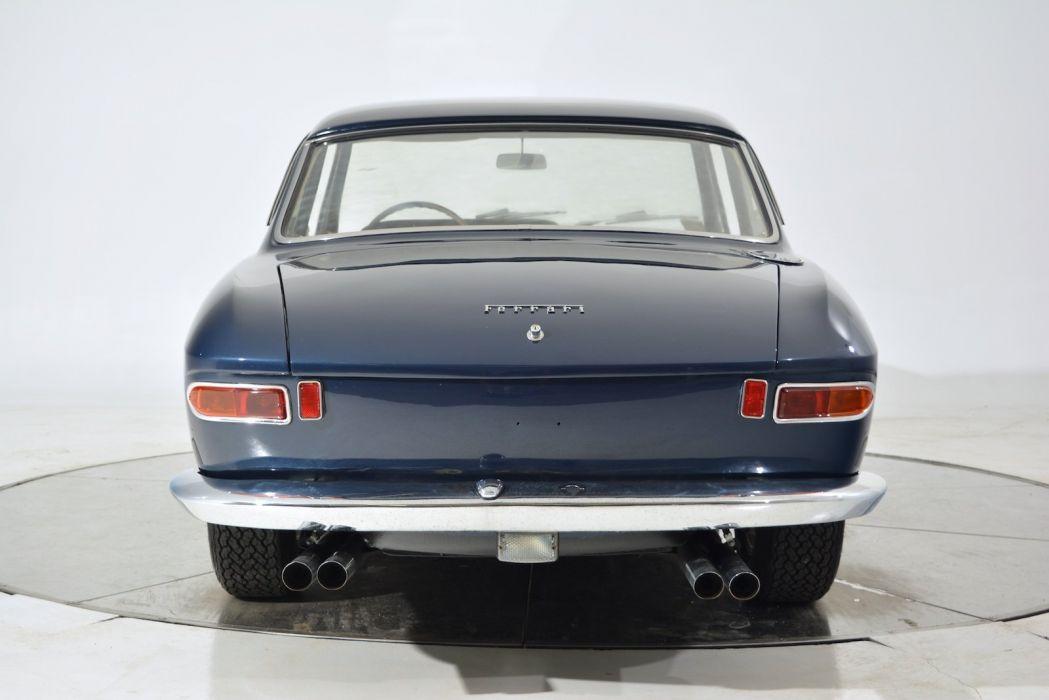 1965 FERRARI 330 2+2 cars blue classic wallpaper