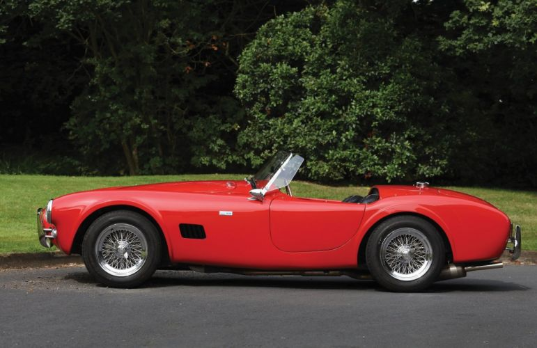 1963 Shelby Cobra 289 cars red classic wallpaper