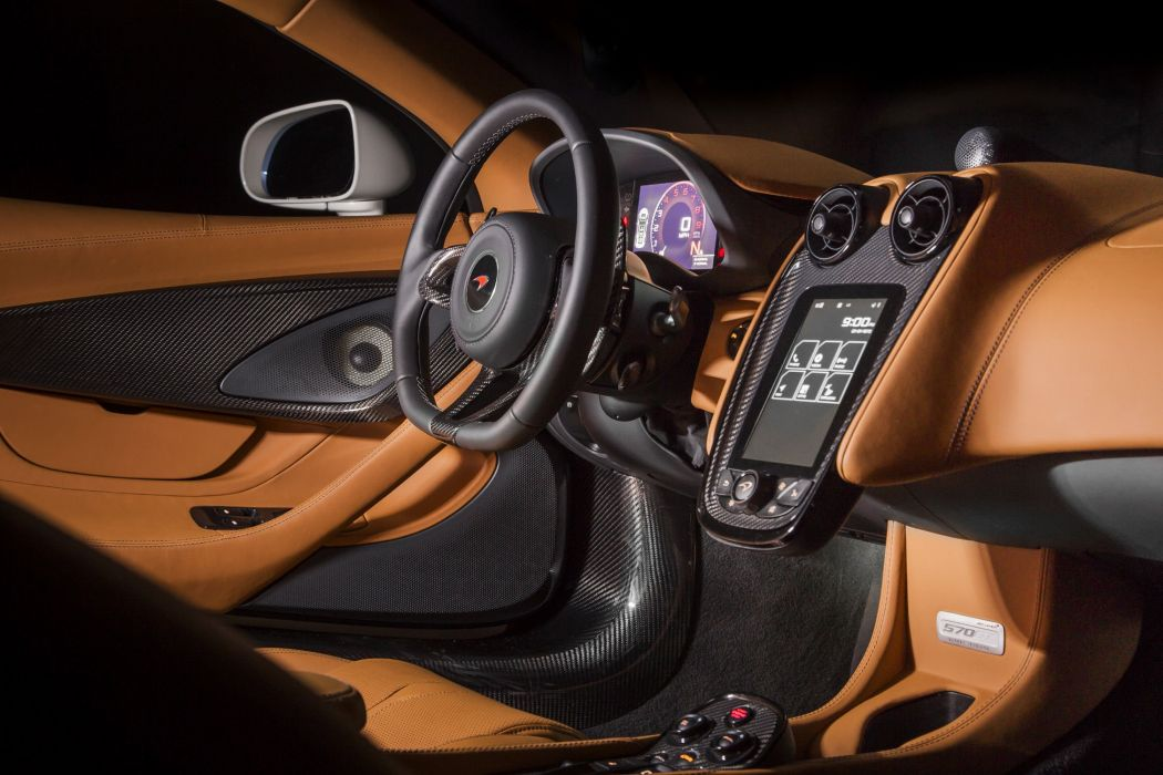McLaren 570GT MSO cars white 2016 wallpaper