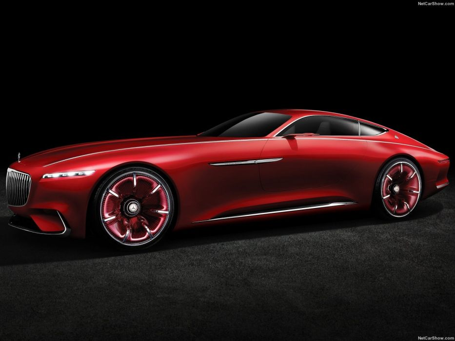 Mercedes Benz Vision Maybach 6 Concept cars 2016 wallpaper