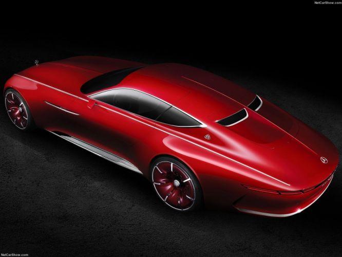 Mercedes Benz Vision Maybach 6 Concept cars 2016 wallpaper