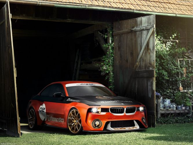 BMW 2002 Hommage Pebble Beach Concept cars 2016 wallpaper