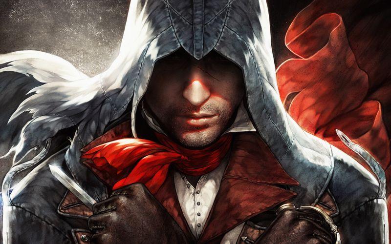 ASSASSINS CREED action adventure fantasy fighting stealth warrior assassin gamr video videogame wallpaper
