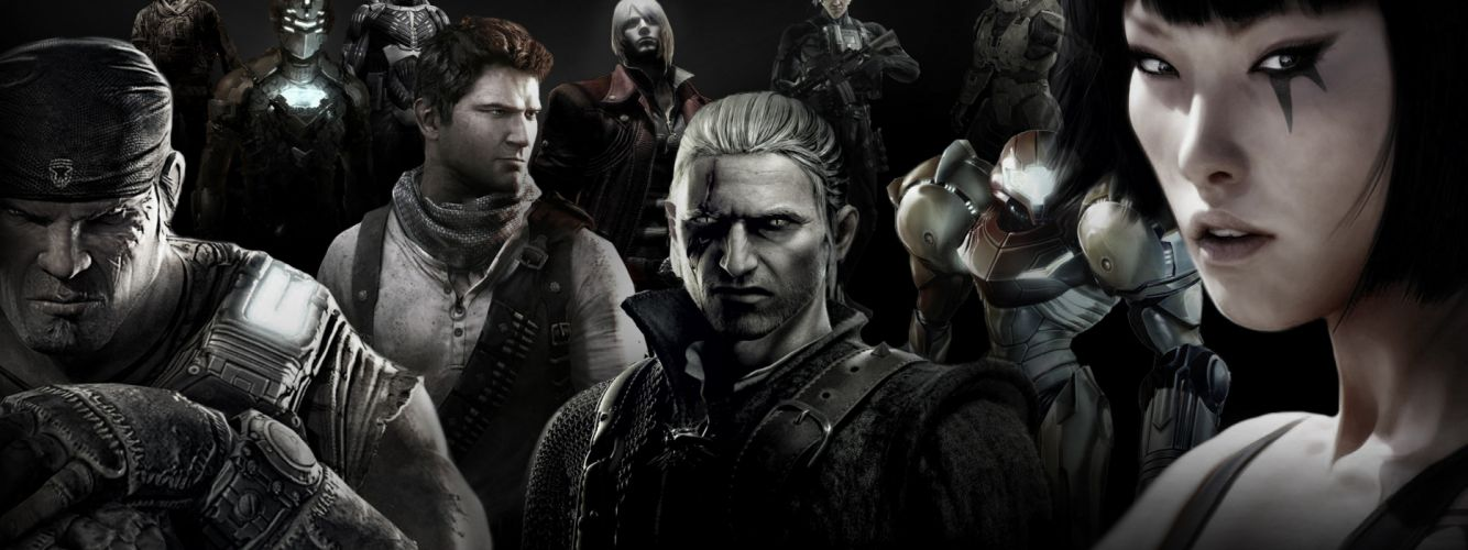 Devil May Cry Dead Space Mirrors Edge Metal Gear Solid Call Of Duty Halo Gears Of War The Witcher Uncharted Crisis wallpaper