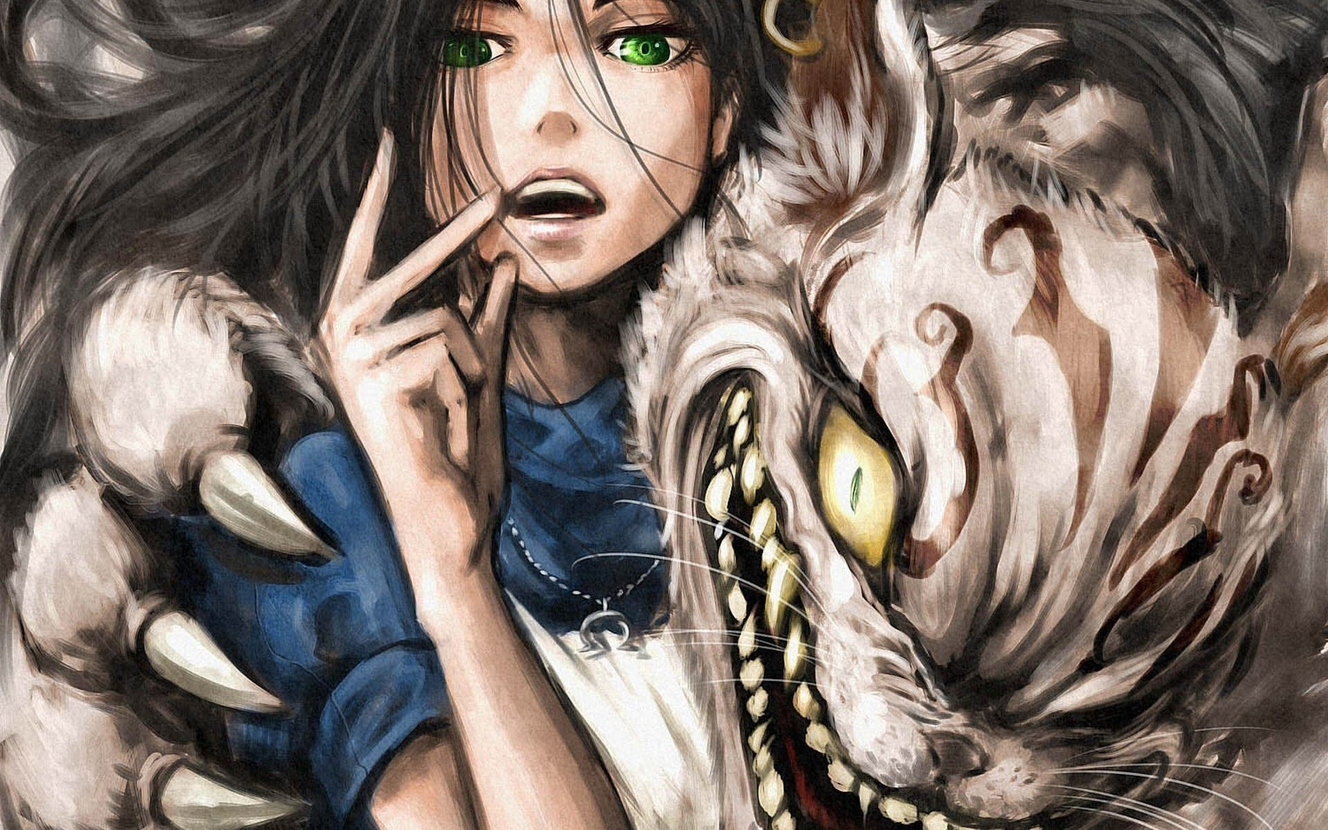 Art Anime Alice Madness Returns Alice In Wonderland Wallpaper