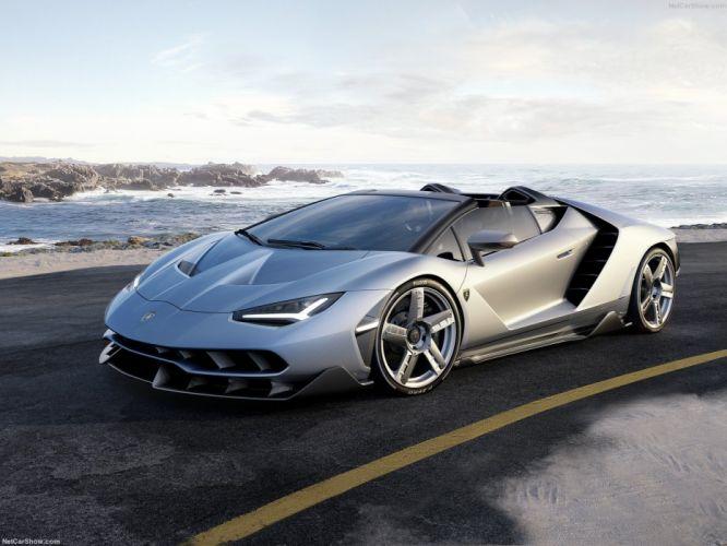 Lamborghini Centenario Roadster cars supercars 2016 wallpaper