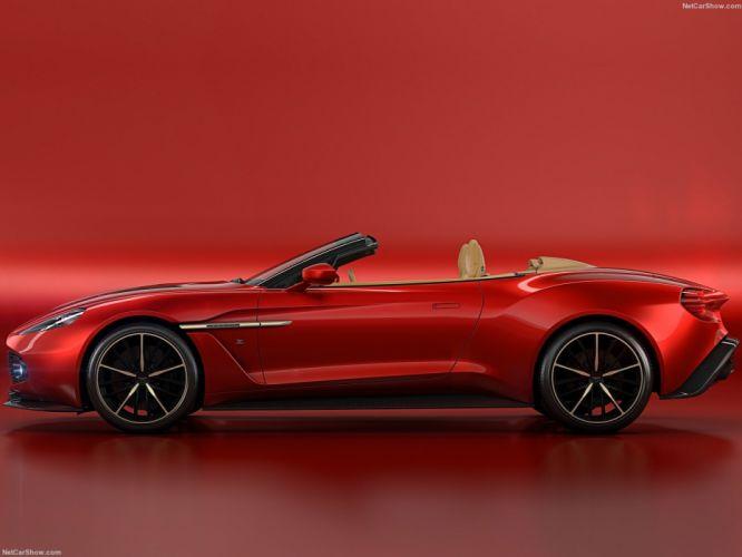 Aston Martin Vanquish Zagato Volante cars 2016 wallpaper
